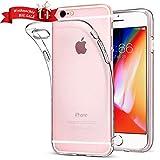 Bodyguard Hülle für iPhone 6 Plus/ 6s Plus, [Crystal Clear] Handyhülle für iPhone 6 Plus, Ultra Dünn Soft TPU Silikonhülle, Kratzfest Schutzhülle, Hohe Zähigkeit, Transparent Case für iPhone 6 Plus