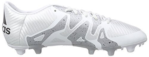adidas Performance Herren X15.3 Fg/Ag Fußballschuhe Weiß (Ftwr White/Core Black/Silver Met.)