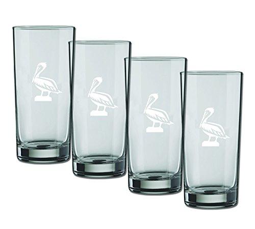 Kraftware Glas Highball Pelican, Set 4, 16Unze