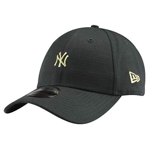 94e94bee5672c New Era 9Forty Unisex Damen Herren MLB League Essential/Brand Logo 940  Adjustable Cap Strapback Cap Baseball Cap mit 7kmh Aufkleber, OSFM, B1 NY  ...