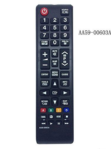 Sustituido nuevo control remoto AA59-00603A Sub BN59-01054A Ajuste para Samsung Smart TV LCD 3D