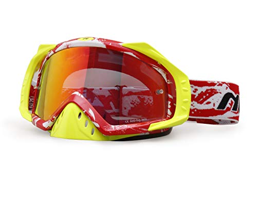 Nenki Motocross Downhill Brille NK-1023, Anti Fog Glas