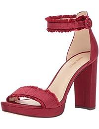 a80bf407979 Nine West Women s Daranita Fabric Heeled Sandal