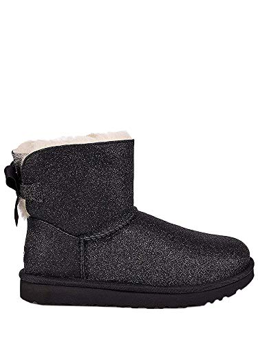 b41efc07187 UGG Mini Bailey Bow Sparkle 1100053 W/Slvr