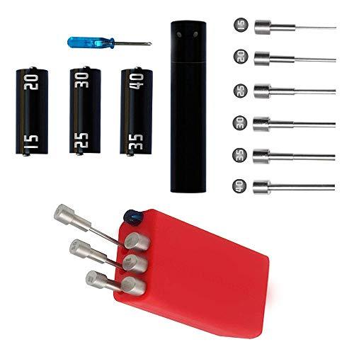 Leeko Spule DIY Werkzeug Kit V3, neue Version Coil Master Wickelzubehör-Set mit Wickelhilfe (V4) / 521 Tab Mini Ohm Reader/Pinzette/Hitzebeständige Draht
