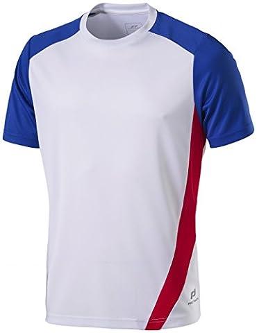 PRO tOUCH club t-shirt 2XL - Blanc/rouge/bleu