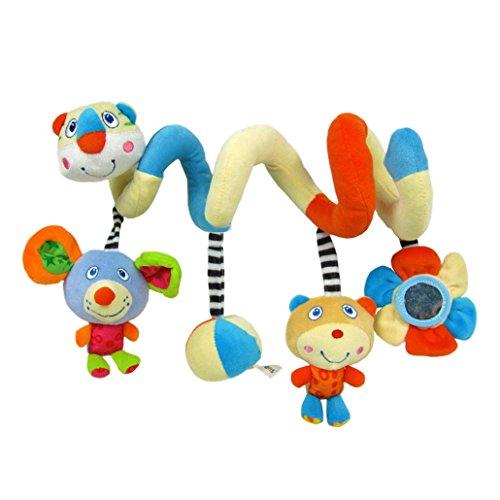 Happy cherry - Juguetes Colgantes Espiral para cochecitos...