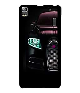 PrintVisa Metal Printed Car Designer Back Case Cover for Huawei P8-D4975