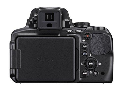 Nikon-Coolpix-P900-Fotocamera-Digitale-Compatta-16-Megapixel-Zoom-83X-VR-LCD-3-Full-HD-Wi-Fi-GPS-GLONASS-QZSS-Nero-Nital-Card-4-Anni-di-Garanzia