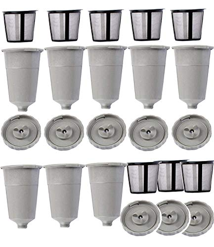 OxoxO Replace Coffee K-Cup Filter for Keurig Fits B30 B40 B50 B60 B70 Series (8 Pack) -