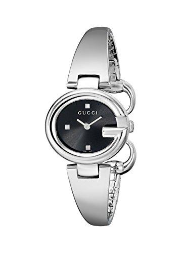 Gucci YA134501 - Orologio da polso da donna, cinturino in acciaio inox colore argento