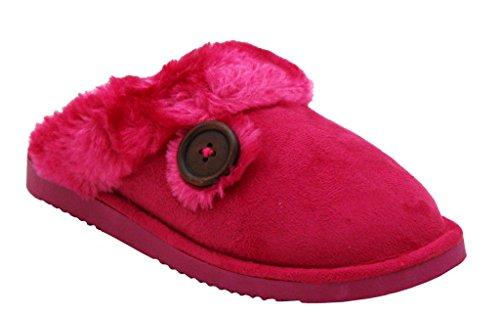 A&H Footwear - Ciabatte da ragazza' donna Fuchsia