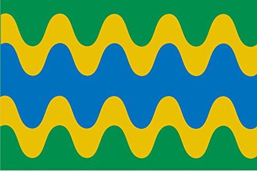 magFlags Bandera Large Barcial de Barco | Bandera Paisaje | 1.35m² | 90x150cm
