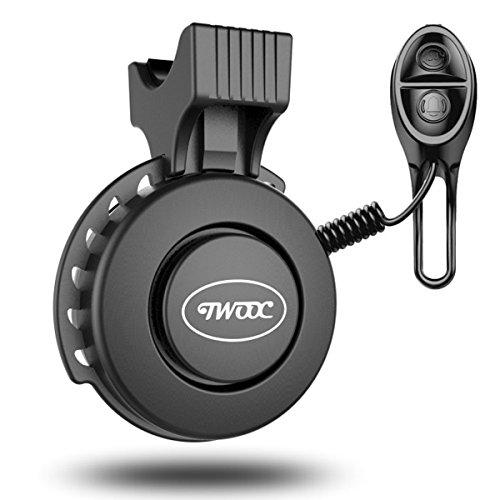 Fahrradklingel USB Wiederaufladbar, wasserdichte Fahrrad bell, Baonuor Elektronisches Lenker Bell Ring für Mountainbike - Fahrrad Sirene