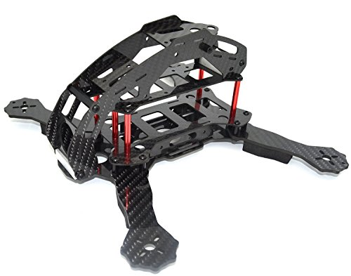 LHI FPV Mini Robocat Karbon 270 4-AchseQuadrokopter Rennkopter rennen Kit ARF+ CC3D Flugcontroller + MT2204 2300KV Motor + Simonk 12A ESC + 6030 CF Propeller Prop - 6