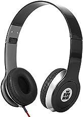 ForMe Faltbare Stereo Wired Headset   On-Ear Leicht-Kopfhörer 3.5mm   Laustärkebegrenzung, Verstellbare Bügelkopfhörer   für IOS/Android Smartphones   Tablet   Computer   MP3/4 Players