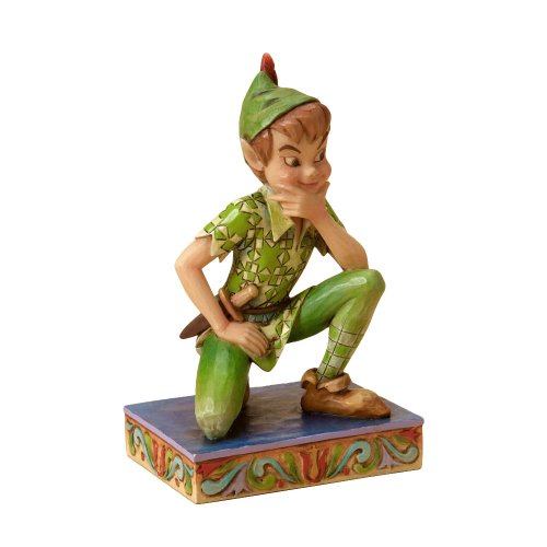 enesco-disney-tradition-figurilla-de-peter-pan-de-resina-altura-de-105-cm-multicolor