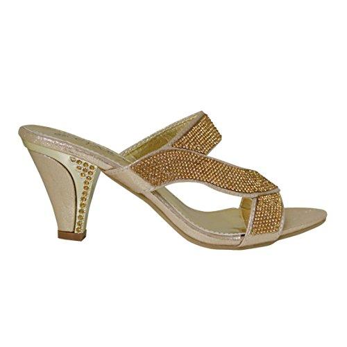 Ciara, Sandali donna Gold