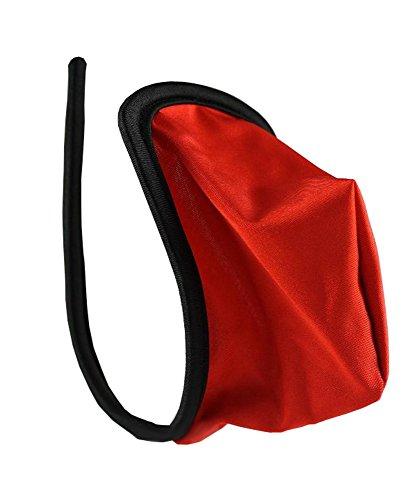 Herren C-String Tanga Micro Männer Slip Rot Dessous Mini Bikini Größe S/M/L/XL
