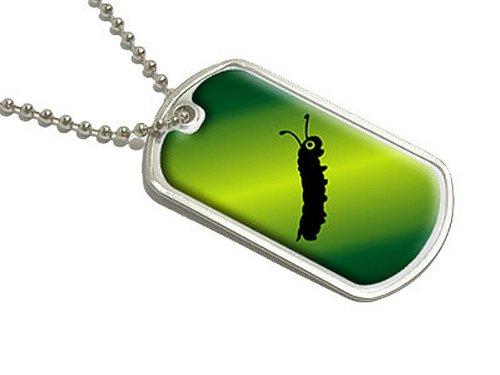 Inching entlang Caterpillar–Militärische Erkennungsmarke Gepäck Schlüsselanhänger (Gepäck Entlang)