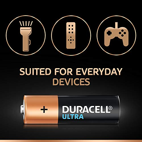 Duracell Ultra Alkaline AA Battery, 8 Pieces