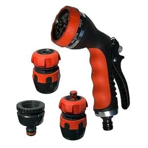 4Pz Pistola innaffiatoio raccordi attacco rubinetto accessori irrigazione 5570