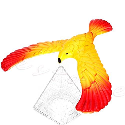 g Vogel Science Schreibtisch-Spielzeug mit Fuß, Adler, lustiges Lernen, Gag Geschenk ()