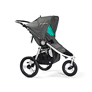 Bumbleride Speed All terrain Jogging Stroller - Dawn Grey Mint   3