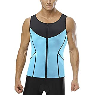 Neoprene Sweat Shaper Warm High Compression Sauna Vest for Men Male Sweat Vest Sweat Trainer