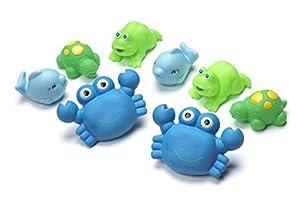 Playgro - Amiguitos de baño para niños, 8 piezas (0109864)