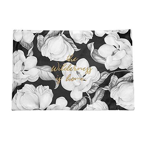 (Platzsets LITING Western Food Mat Retro Einfache Blume Double Thick Pad Tischdecke Isolation Pad Anti-Hot-Pad (Farbe : Monolithic-A, größe : 44cm*28cm))