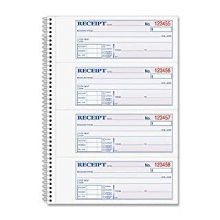 ABFSC1182 - Adams Wire Bound Money/Rent Receipt Books by Adams Business Forms