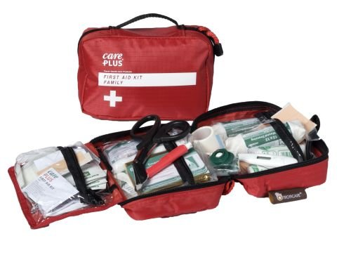 Care Plus Tropicare First Aid Kit Family - Erste Hilfe Set Verbandskasten -