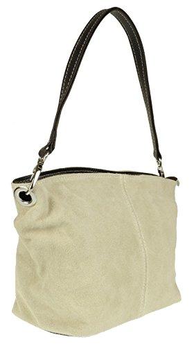 Tasche Handtasche Italy Damen Pi10068 Pelle Echt Leder ALqRj4c3S5