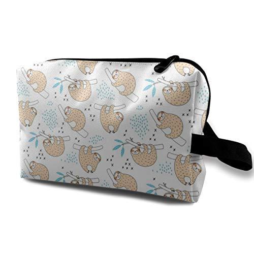 Kosmetiktasche für Geldbörse, Thanksgiving Funny Gobble Gobble Türkei Face_10, Oxford Tuch Bunte Tasche Mini Travel (Geldbörse Türkei Die)