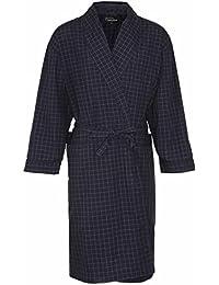 Hommes Champion Robe De Chambre À Carreaux Peignoir Coton Polyester