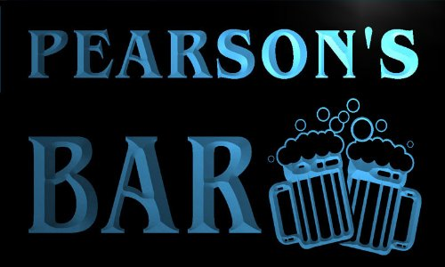 cartel-luminoso-w000281-b-pearson-name-home-bar-pub-beer-mugs-cheers-neon-light-sign