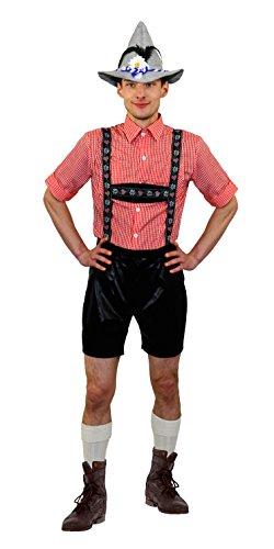 ILOVEFANCYDRESS BAYRISCHES Oktoberfest KOSTÜM+SEPPEL/Filz Hut+SOCKEN MÄNNER - Frauen +Paare =DIRNDEL Lederhosen Art VERKLEIDUNG BIERFESTE= Trachten VERKLEIDUNG VOLKSFESTE Fasching - Super Bier Mann Kostüm