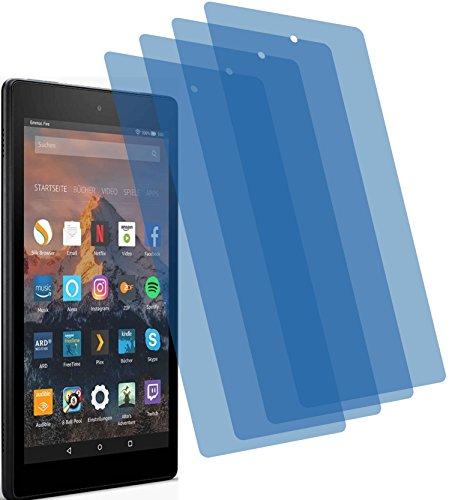 X matt Schutzfolie für Amazon Fire HD 8-Tablet 7. Generation 2017 Premium Displayschutzfolie Bildschirmschutzfolie Schutzhülle Displayschutz Displayfolie Folie ()
