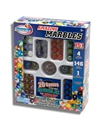 Amazing Marbles Deluxe 151 Set for Collectors and Game Players