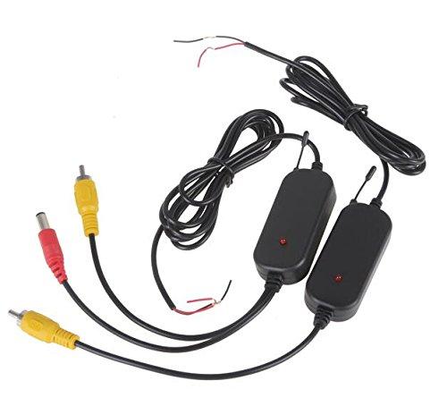 BW 2,4GHz Transmisor Receptor Inalámbrico para Cámara Vista Trasera Coche Monitor