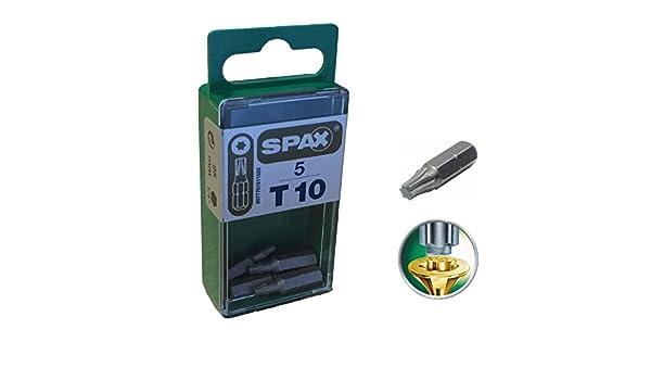 mit Box 150 Stueck SPAX Schrauben Frankreich Univ Tftx 5 x 80 T25