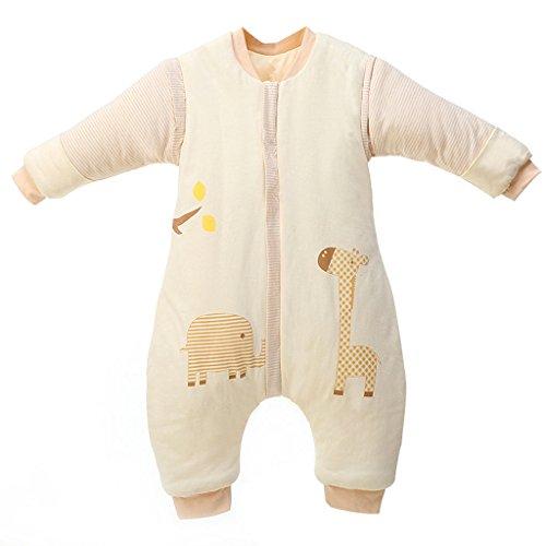 Bolsa de Dormir de Bebé de Mangas Largas,Invierno Sacos de Dormir para Bebé...