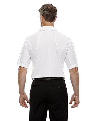 Ash City Herren Poloshirt WHITE 701