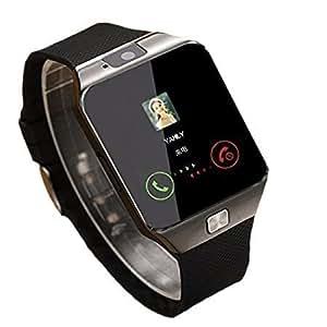 Axxe Samsung Galaxy J7 4G Compatible Samsung Edge Bluetooth DZ09 Smart Watch Wrist Watch Phone with Camera & SIM Card Support