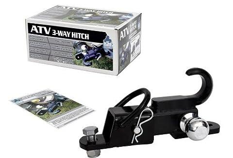 Komodo ATV3WH1782 ATV 3-Way Receiver Hitch with 1 7/8 Hitch Ball by Komodo