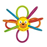 Best Nuby Toddlers Giocattoli - Manhattan Toy Zoo Winkel Lion rattle and Sensory Review
