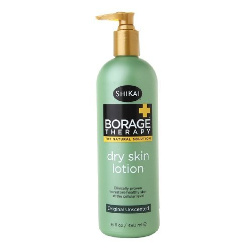 Shikai Borage Therapy Dry Skin Lotion Original Unscented - 16 Oz, Pack of 2 by Shikai Products