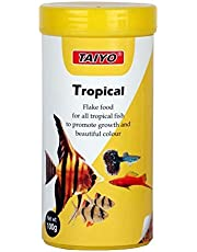 Taiyo Tropical Flakes Fish Food, 100 g