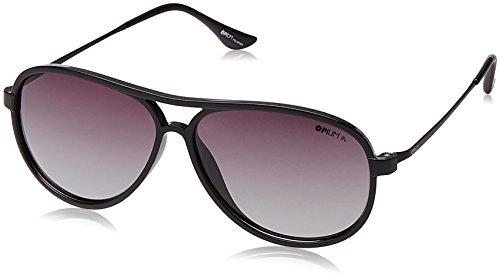 3d25e0f06baa Opium Polarized Aviator Unisex Sunglasses Op 1334 C05 60 Smoke Lens Op 1334  C05